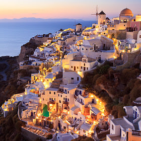 Sunset, Oia by Chris Upton (chrisupton) on 500px.com