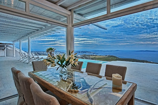 The Mykonos Amazing villa for luxury vacations