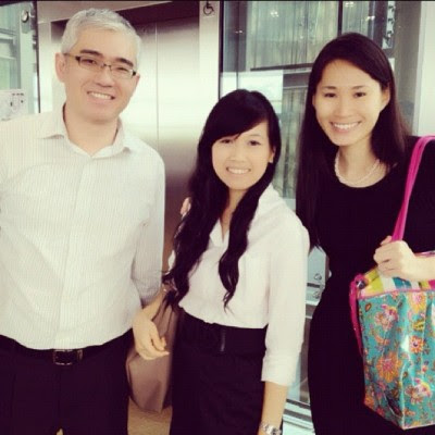 Thank you Mr Chan and Mrs Ong for coming! 😊😊😊 (Taken with Instagram)