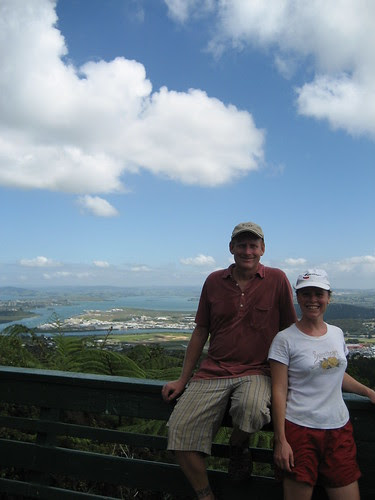 Peter and Ginger Whangarei view