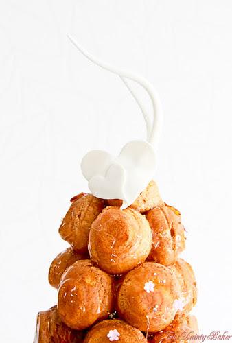 Croquembouche wedding cake-15
