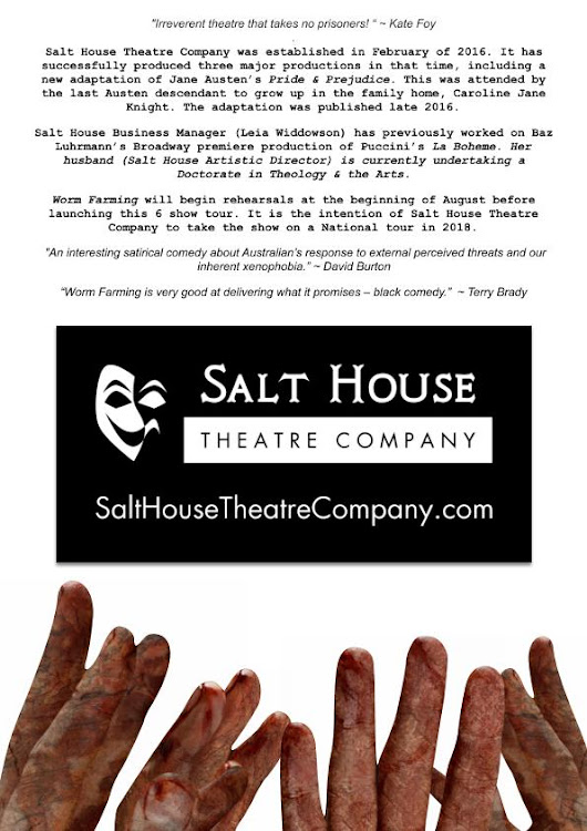 SALT HOUSE THEATRE presents WORM FARMING