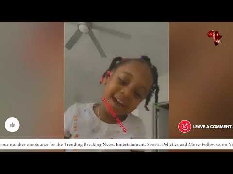 Davido's Daughter Hailey Sings 'Jowo' From His 'A Better Time' Album