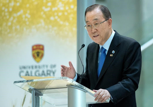 Alberta's climate change plan gets bouquets from top UN official
