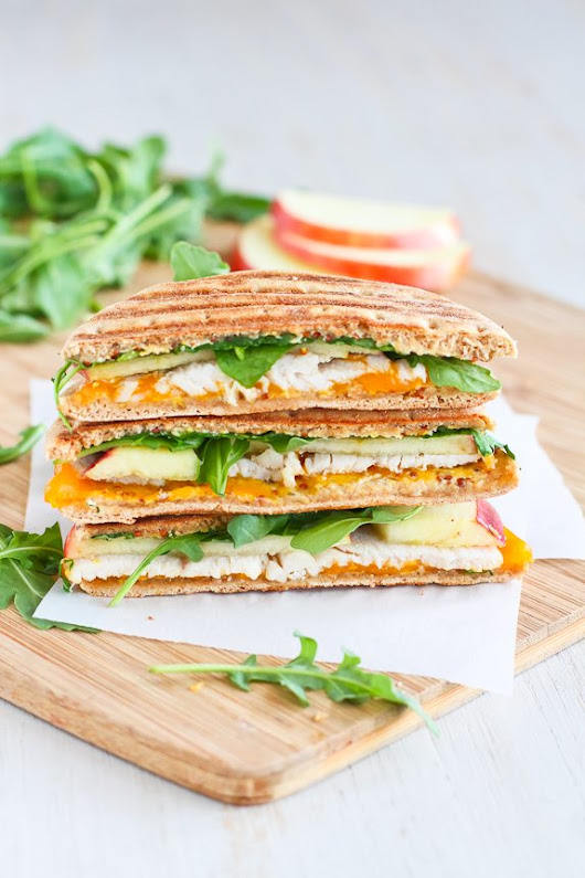 Turkey Panini Recipe with Apple, Cheddar & Arugula | Cookin' Canuck