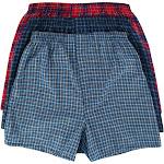 Fruit of the Loom Men's Plaid Tartan Boxer Underwear (3 Pack) -