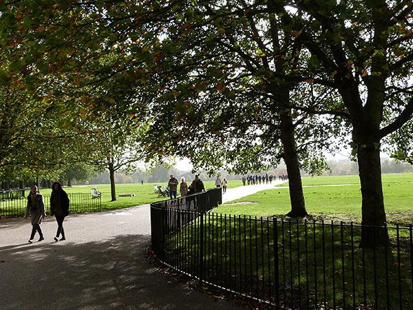 entrée Hyde Park