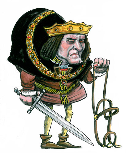 Kings and Queens: Richard III was credited with introducing the bail system in 1484