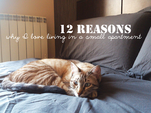 12 reasons why I love living in a small apartment