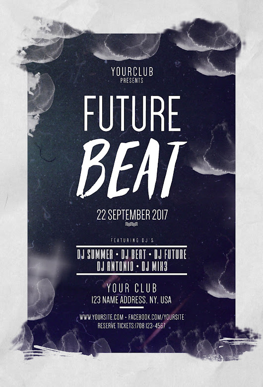 Future Beat - Download Freebie PSD Flyers Templates - Stockpsd.net