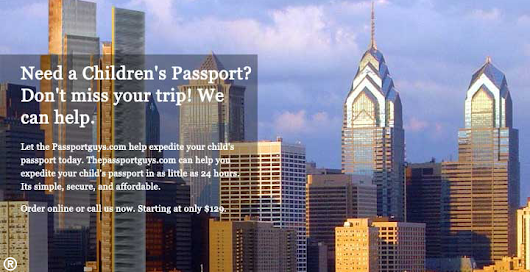 Travel Visa in Philadelphia | Emergency Travel Visas  | The Passport Guys |