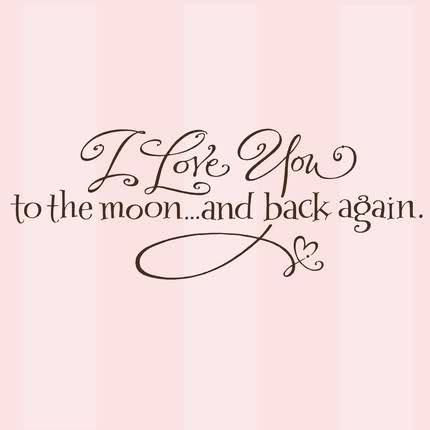 I Love You To The Moon And Back Again Pictures Photos And Images