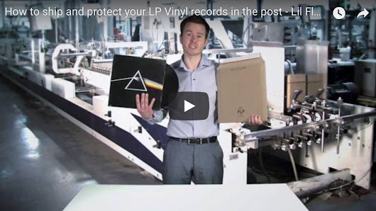 How to ship Vinyl Records - a Video guide to vinyl record packaging