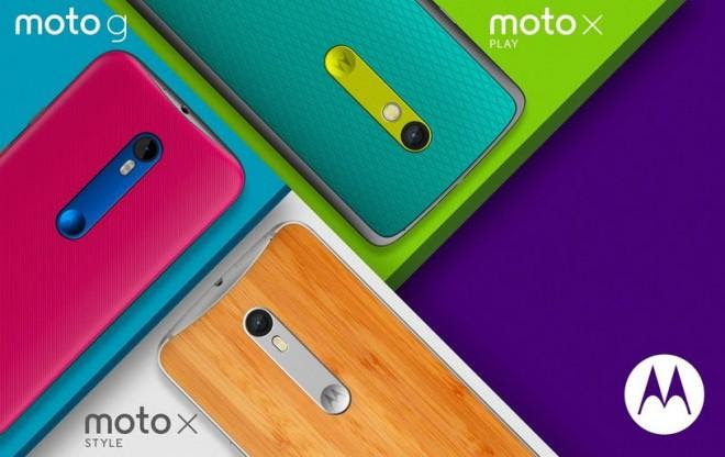 Moto X Style, Moto X Play and Moto G (3rd Gen)