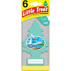Little Trees Cardboard Hanging Car, Home & Office Air Freshener, Bayside Breeze
