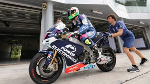 CTRs get first taste of softer option rear tyre