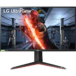 "LG - UltraGear 27"" IPS LED QHD FreeSync and G-SYNC Compatable Monitor with HDR (DisplayPort, HDMI) - Black"