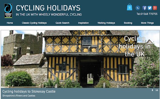 Visit Richard's Castle on a cycling holiday