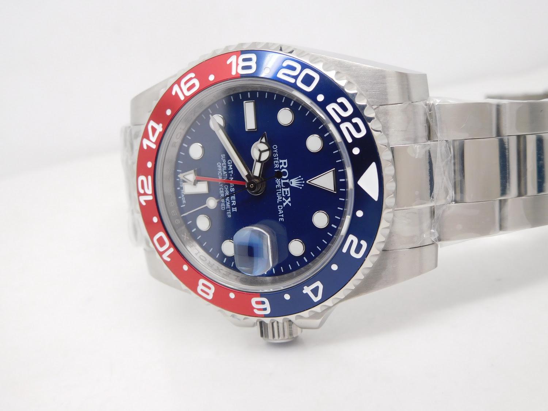 Replica Rolex GMT Master II 116719BLRO Blue Dial
