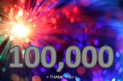 100,000 pageviews! Thank you!