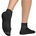 Hanes Men's X-Temp Comfort Cool Ankle 6-Pack, Black