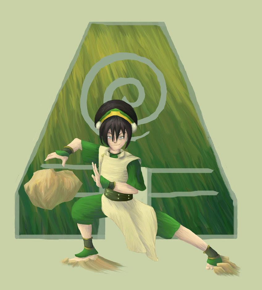 Avatar The Last Airbender Gaara Toph Beifong Hd Wallpapers 849x941