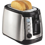 Hamilton Beach Keep Warm 2 Slice Toaster - Silver 22811