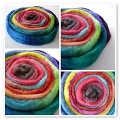 Spiral Dyeing Sampler