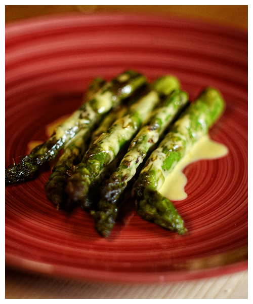 asparagus with mayonnaise© by Haalo