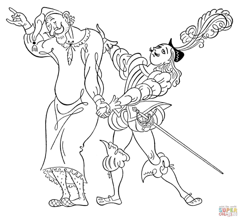 Ritter und armer Mann