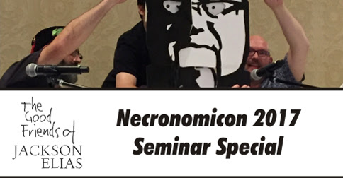 Special episode - Necronomicon 2017 live with the MUP - Blasphemous Tomes