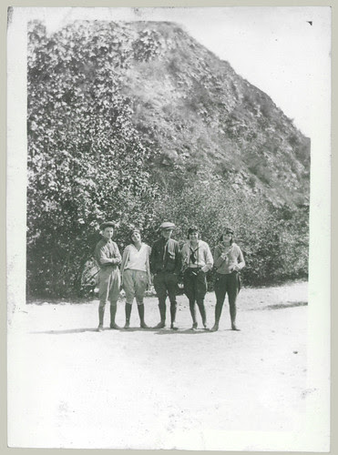 Five on the trail in jodhpurs