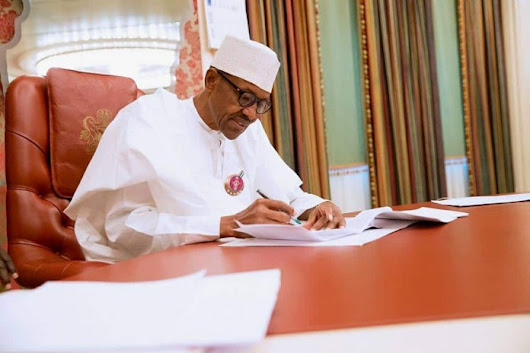 President Buhari Signs Extradition Bill, Signs FCT Budget