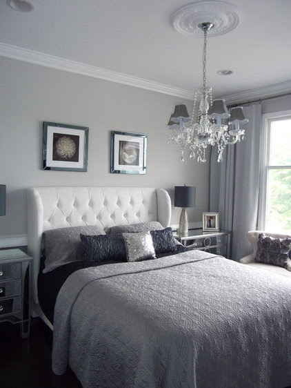 modern bedroom by DYS Home staging in N.J. by Yaxy Sysol