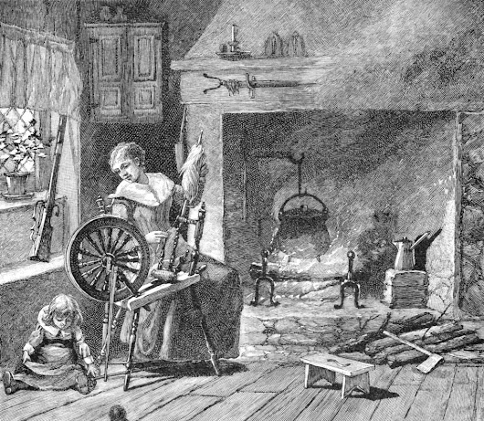 Spinning in Cowgirl Boots - Homespuns and the American Revolution