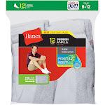 Hanes Men's Ankle Socks 12-Pack 186V12 - White - 10--13