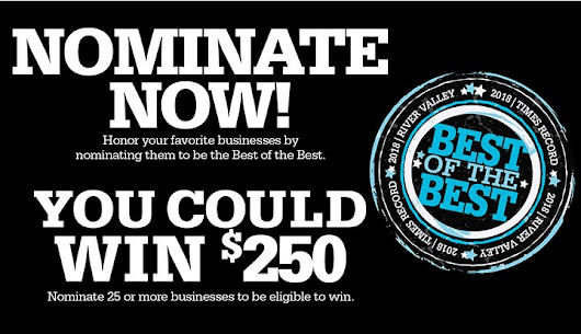 Best Of The Best - Contests and Promotions - Times Record