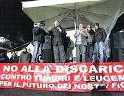 Grillo sul palco