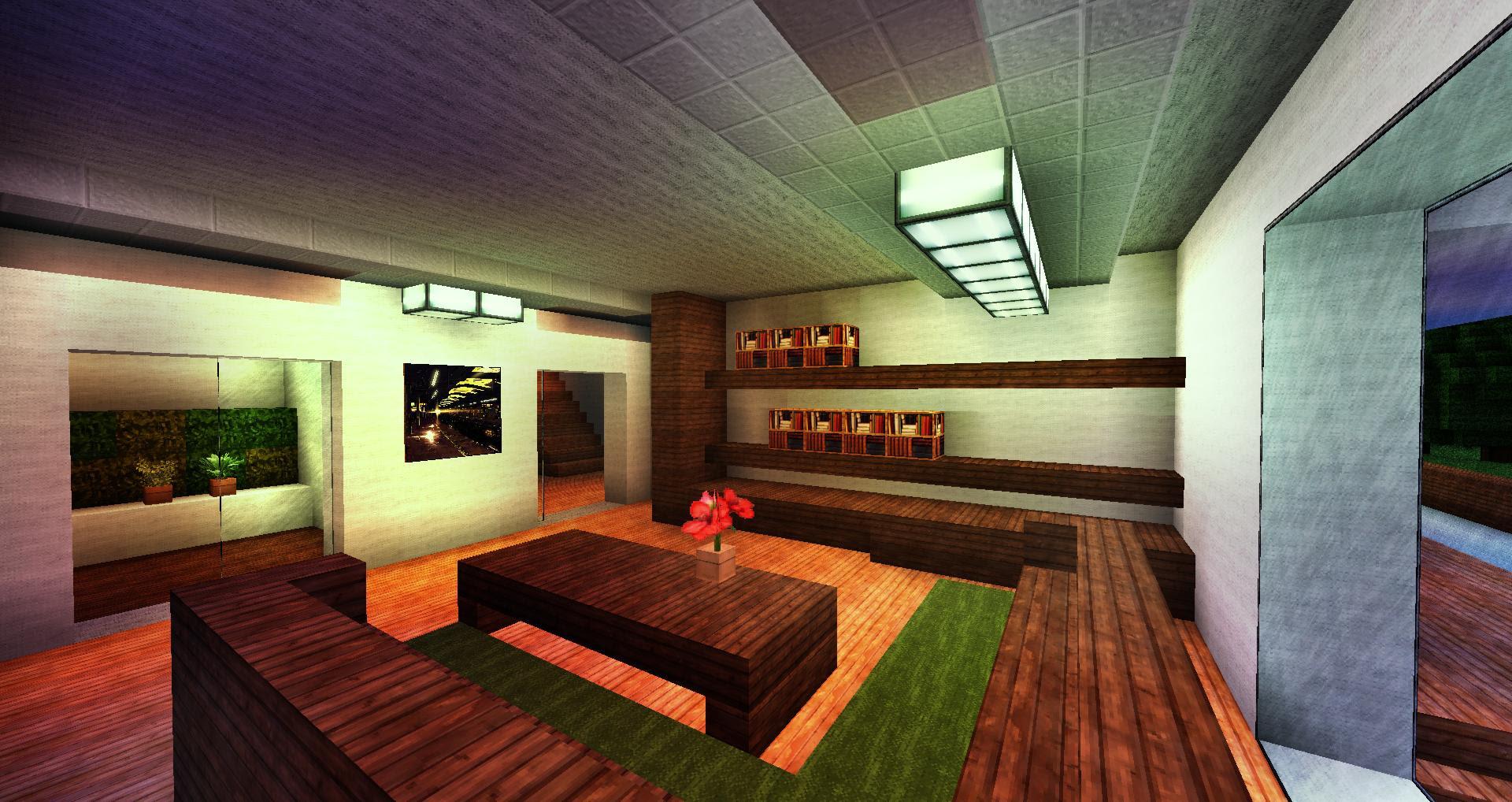 Nefa's Modern Cafe Minecraft Project