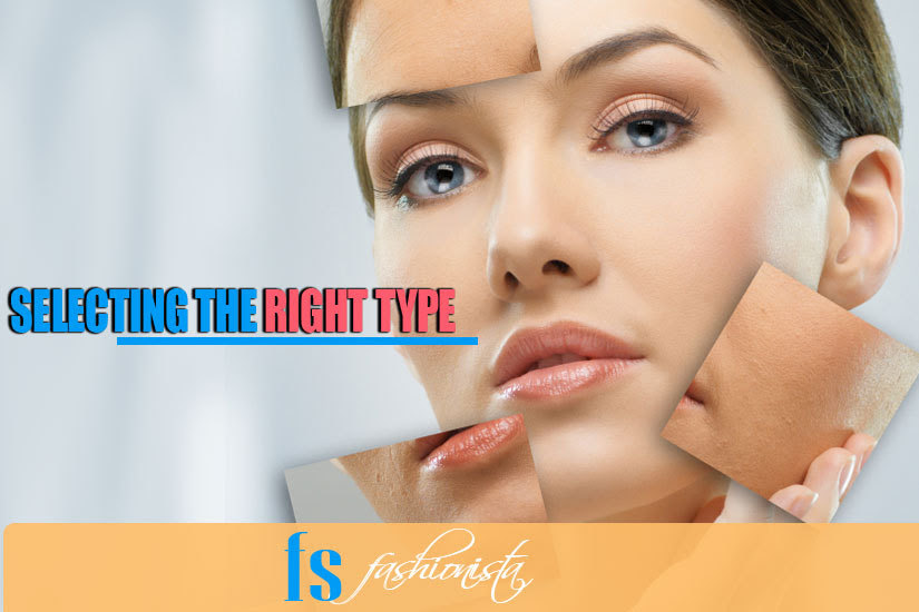 Selecting the foundation for right skin type