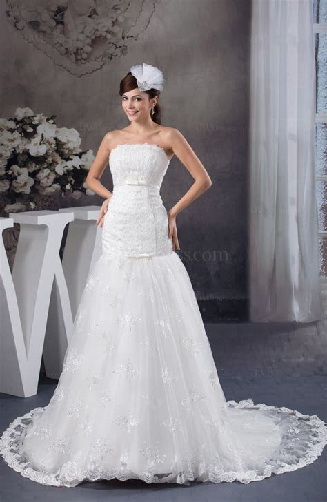 Allure Bridal Gowns Sexy Expensive Strapless Winter