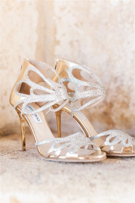 17 Best ideas about Gold Wedding Shoes on Pinterest   Gold