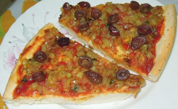 νηστίσιμη πίτσα!!