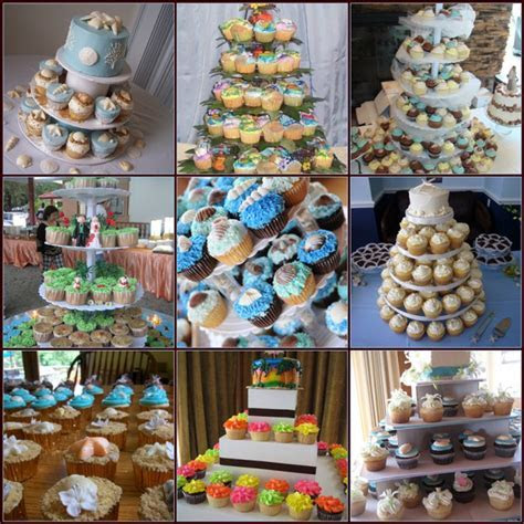 Beach Wedding Cupcake Ideas   Here Comes The Blog
