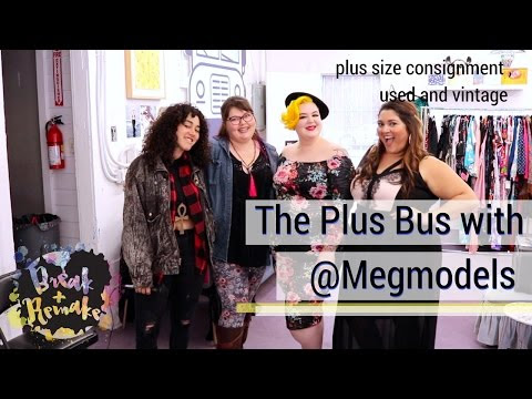 The Plus Bus - plus size consignment, used and vintage clothing - body p...