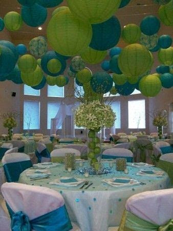 blue and green wedding   Photo Gallery   Photo Of Blue