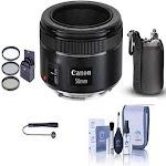 """""""Canon EF 50mm f/1.8 STM Lens - Essential Bundle"""""""