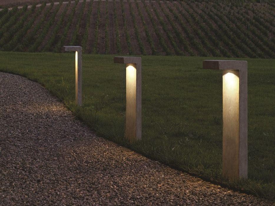 LED bollard light PASTORALE by LUCIFEROS