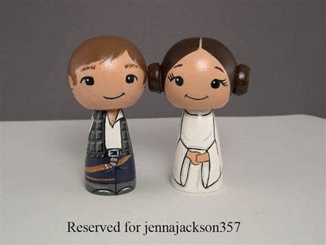Han And Leia Star Wars Wedding Cake Toppers #2247710