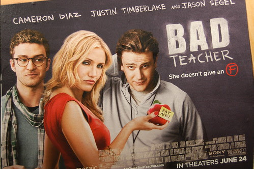 BAD TEACHER movie banner